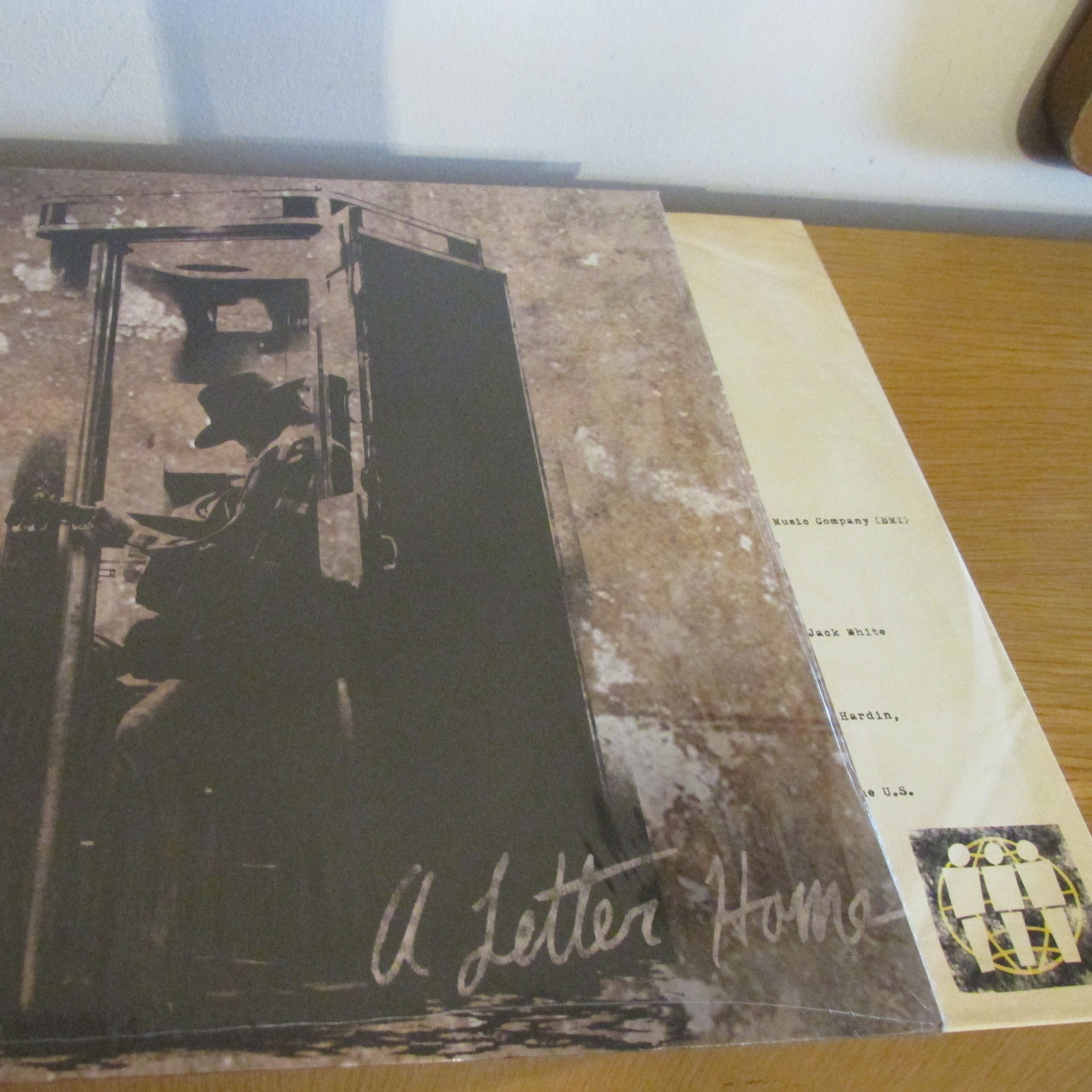 Neil Young A Letter Home LP undefined