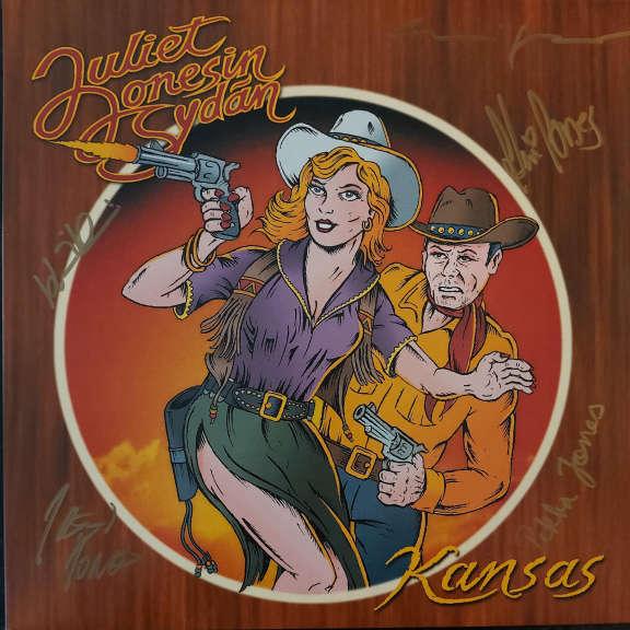 Juliet Jonesin Sydän Kansas (Nimikirjoituksilla) LP 2020