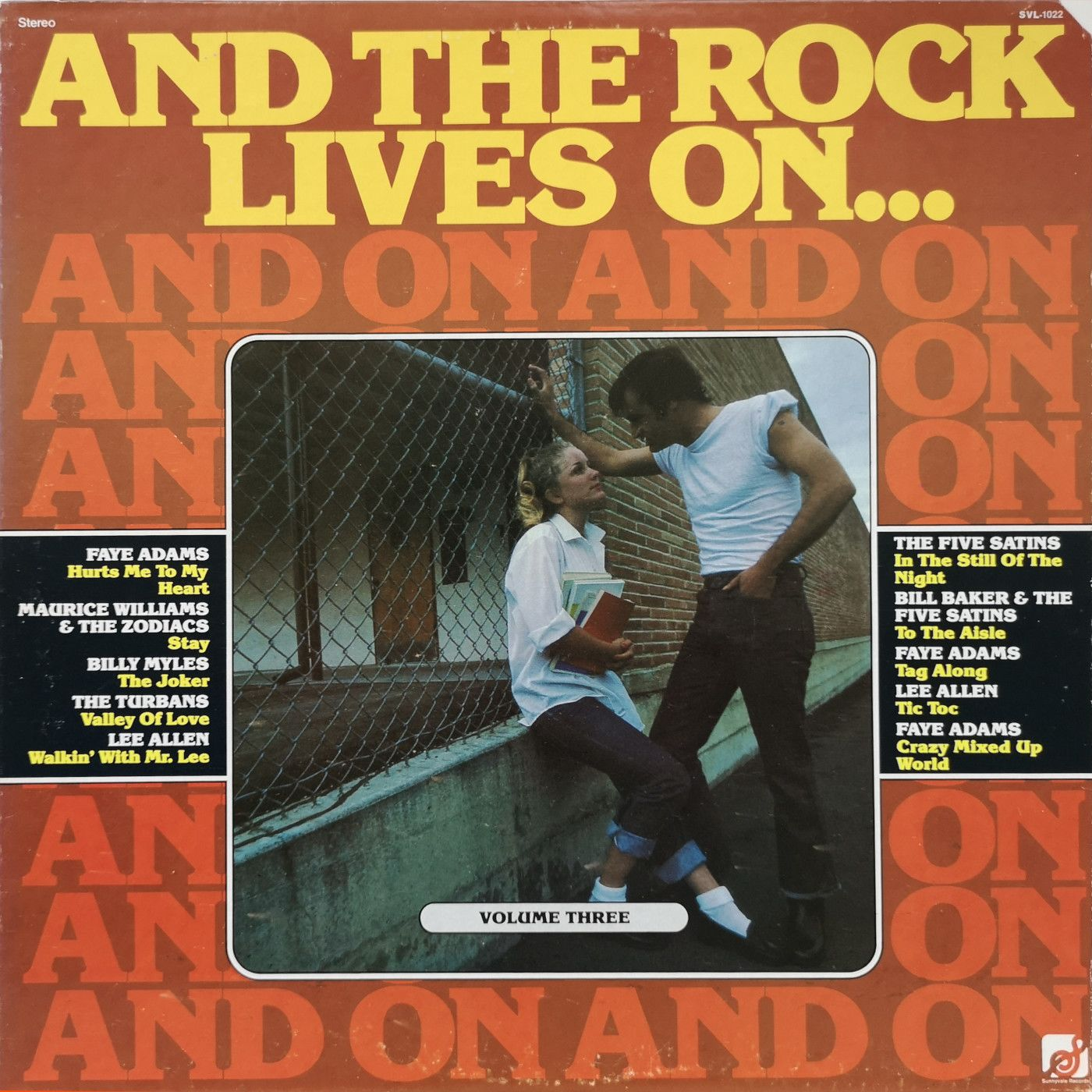 Various And The Rock Lives On…Volume Three  LP undefined