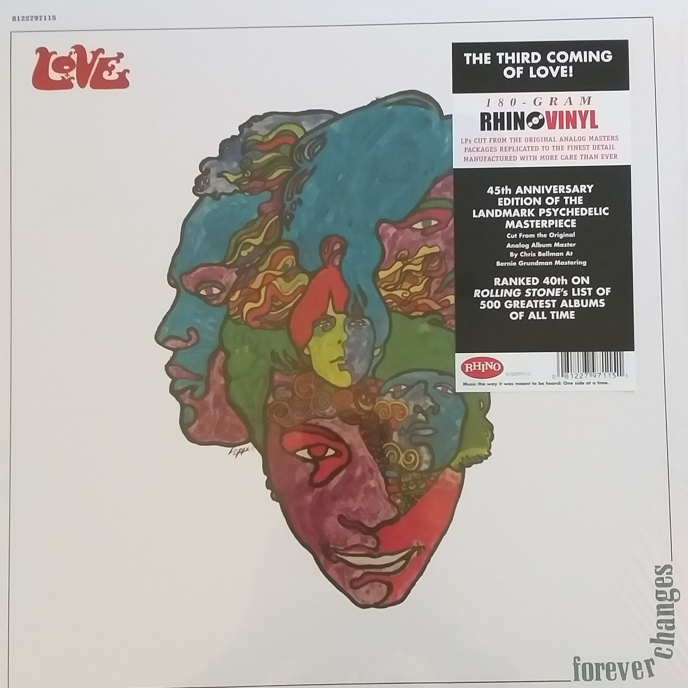 Love Forever changes LP undefined