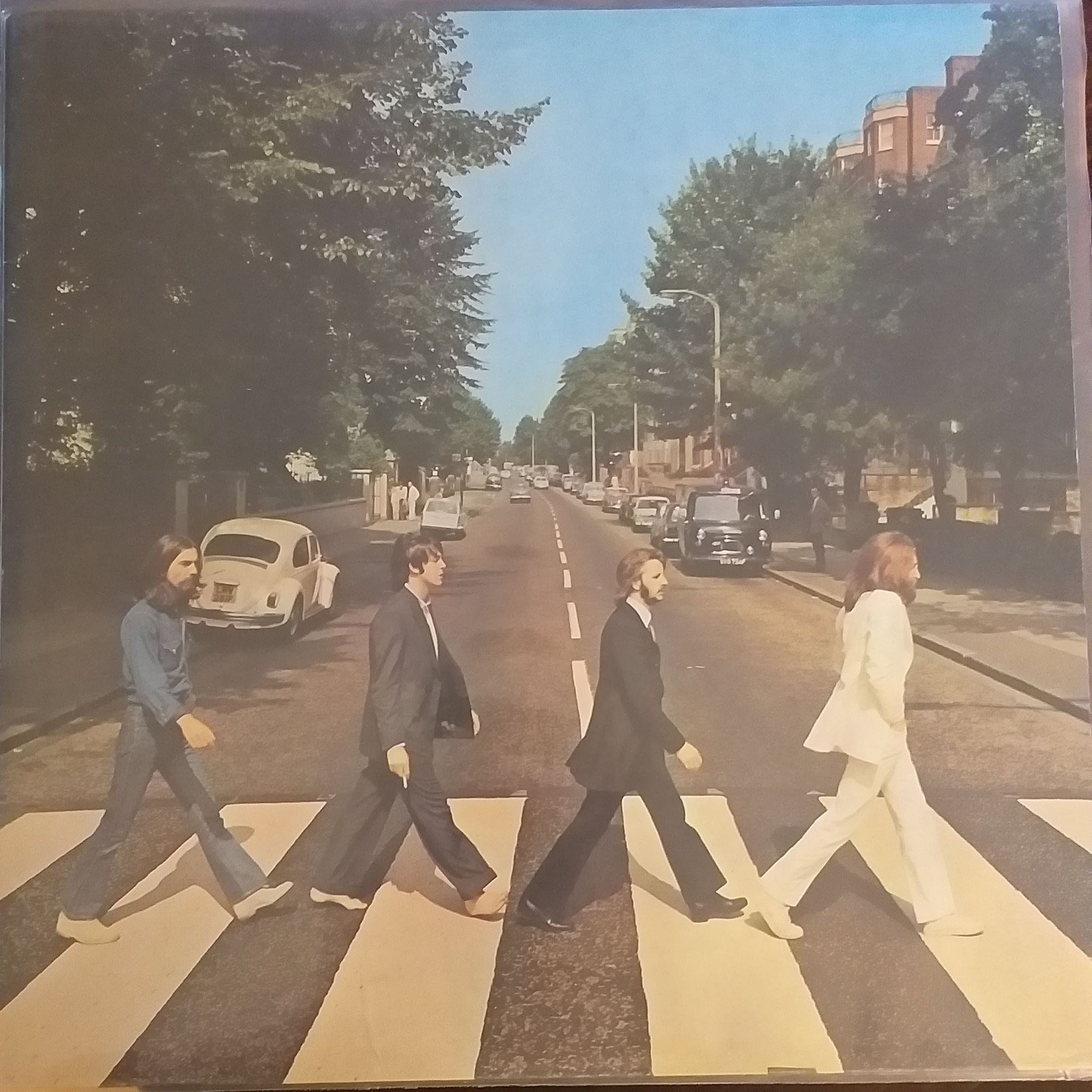 The Beatles Abbey road LP undefined