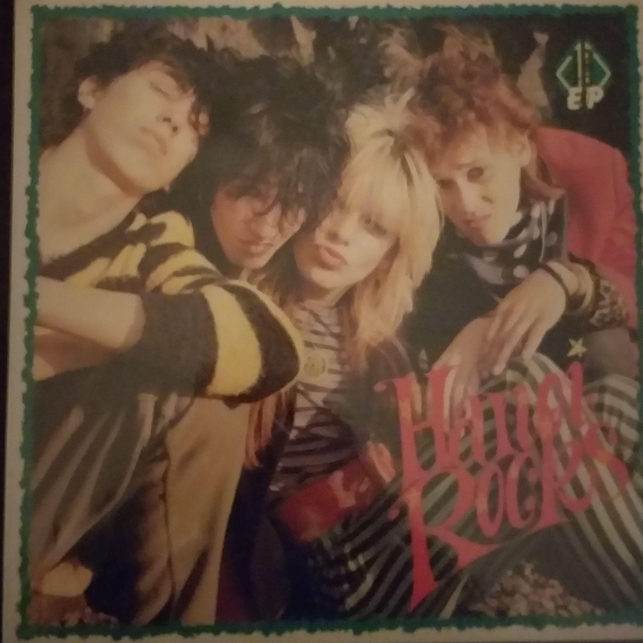"Hanoi rocks ""Venue ep"" LP undefined"