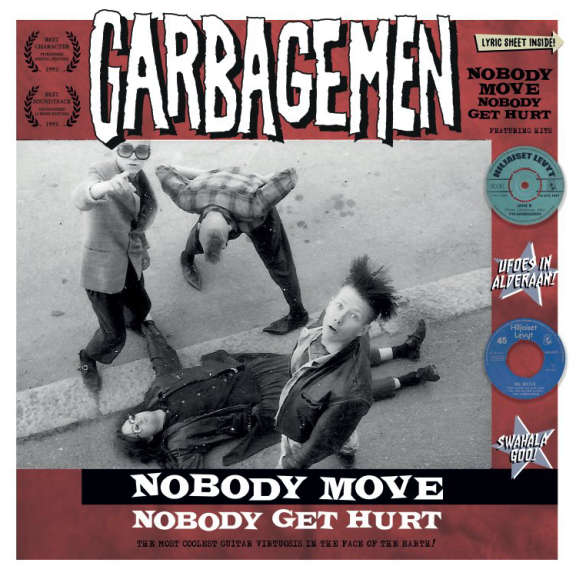 Garbagemen Nobody Move Nobody Get Hurt LP 2020
