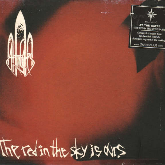 At The Gates The Red In The Sky Is Ours Oheistarvikkeet 2001
