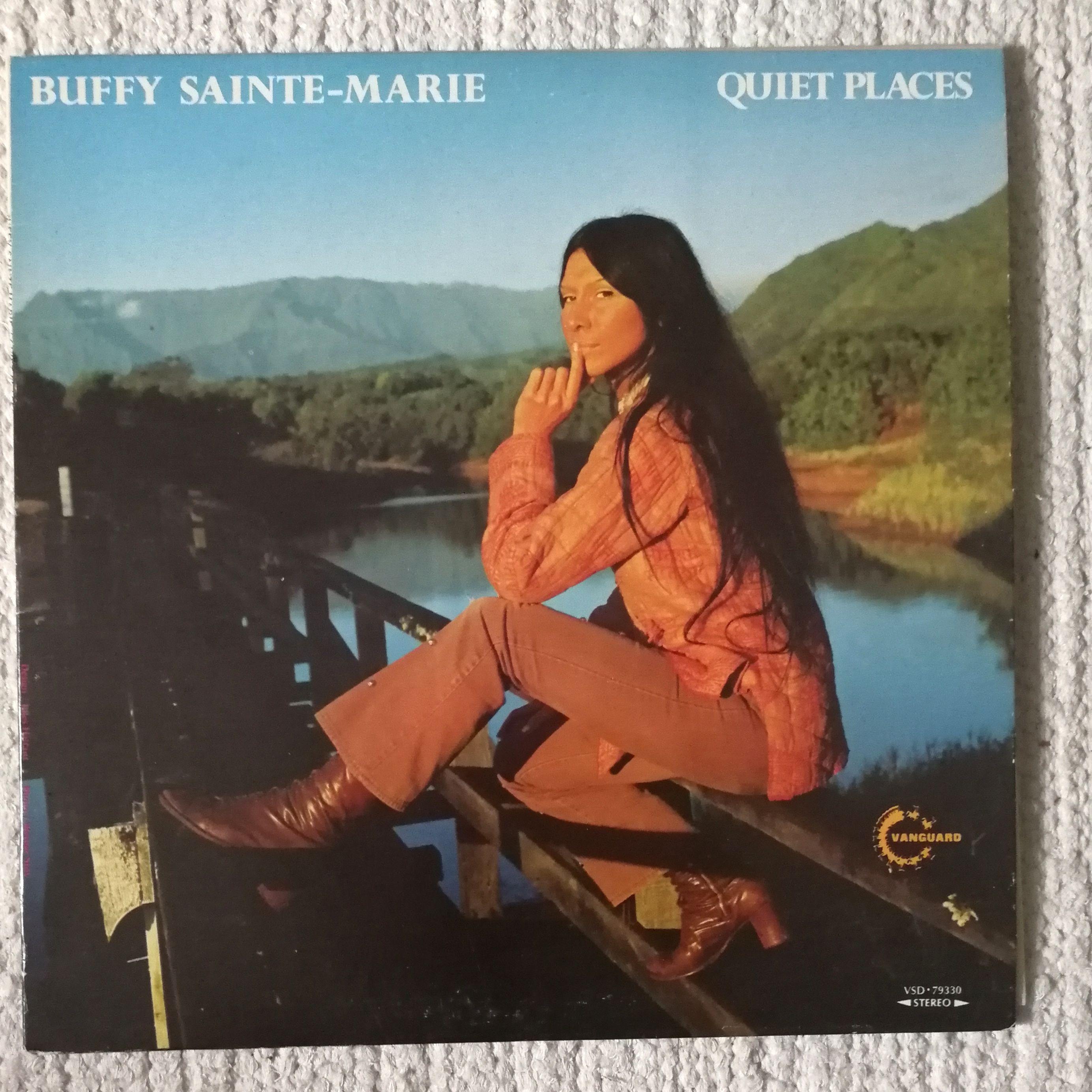 Buffy Sainte-Marie Quiet Places LP undefined