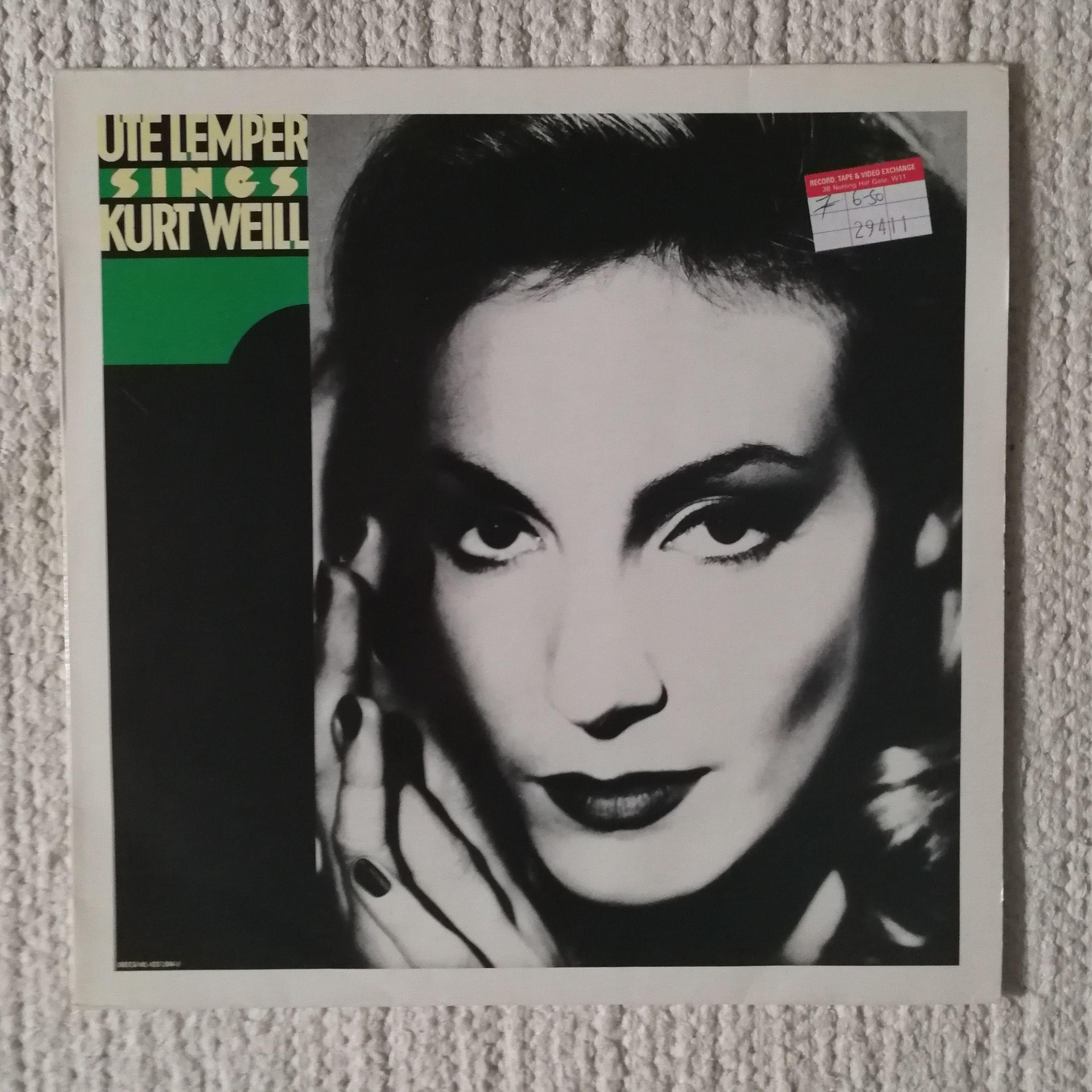 Ute Lemper Ute Lemper sings Kurt Weill LP undefined