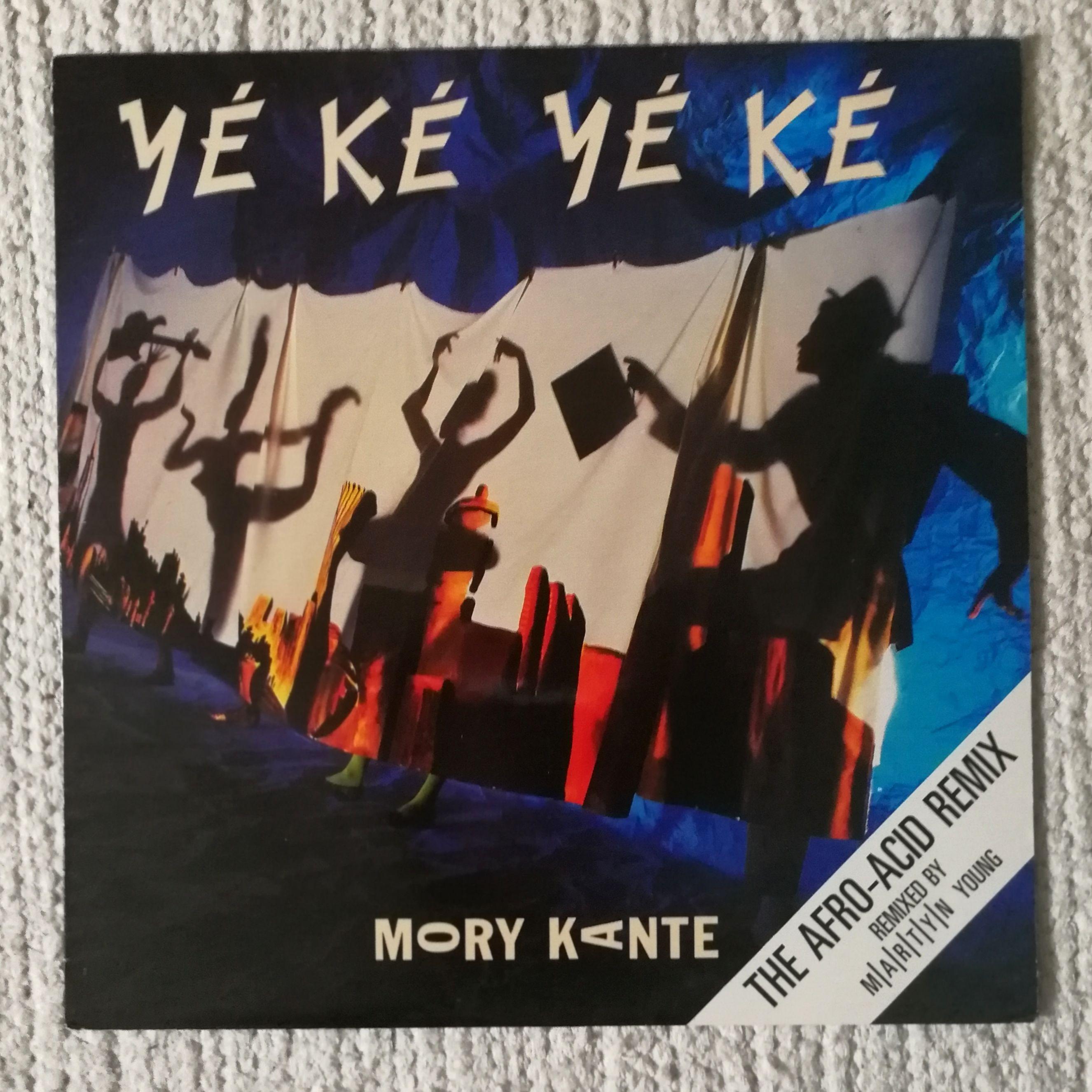 Mory Kante Yé Ké Yé Ké 12''The Afro-Acid Remix LP undefined