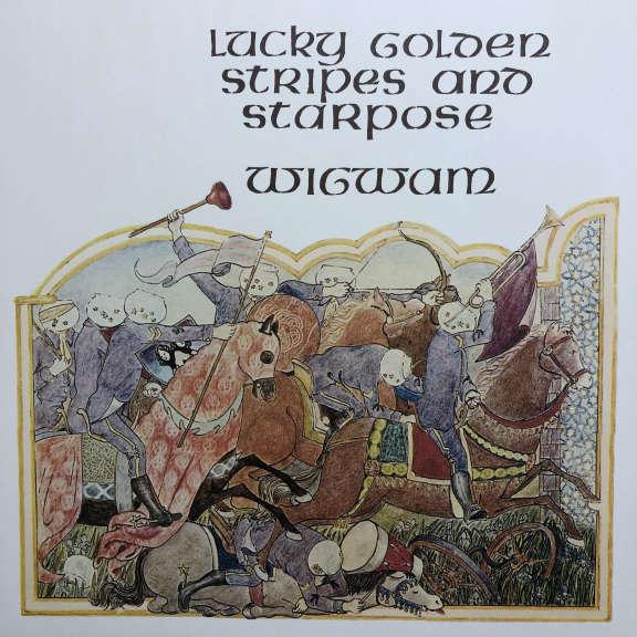 Wigwam Lucky Golden Stripes And Starpose LP 2018