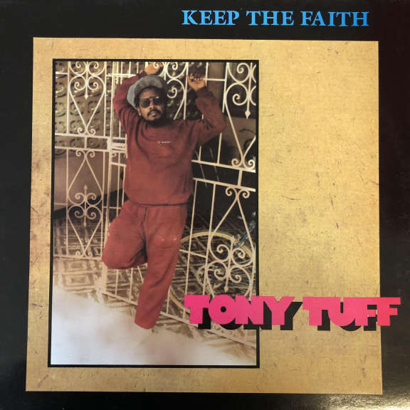 Tony Tuff Keep The Faith LP 0