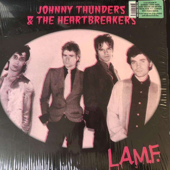 Johnny Thunders & The Heartbreakers L.A.M.F. Demos, Outtakes And Alternative Mixes LP 0