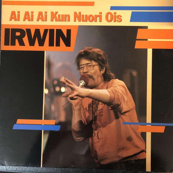 Irwin Goodman Ai Ai Ai Kun Nuori Ois LP 0