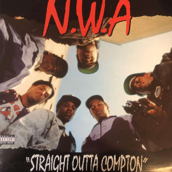 N.W.A SStraight Outta Compton LP 0