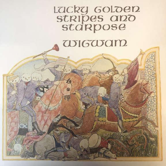 Wigwam Lucky Golden Stripes And Starpose   LP 0