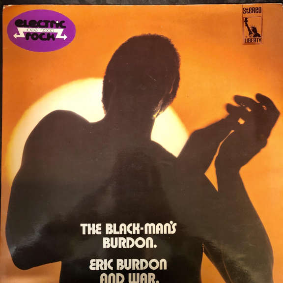 Eric Burdon And War The Black-Man's Burdon LP 0