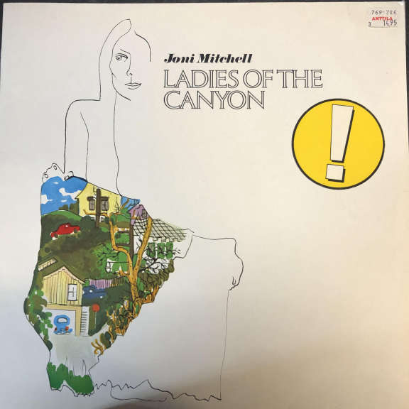Joni Mitchell Ladies Of The Canyon LP 0