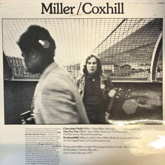 Lol Coxhill & Steve Miller Coxhill/Miller/Miller/Coxhill LP 0