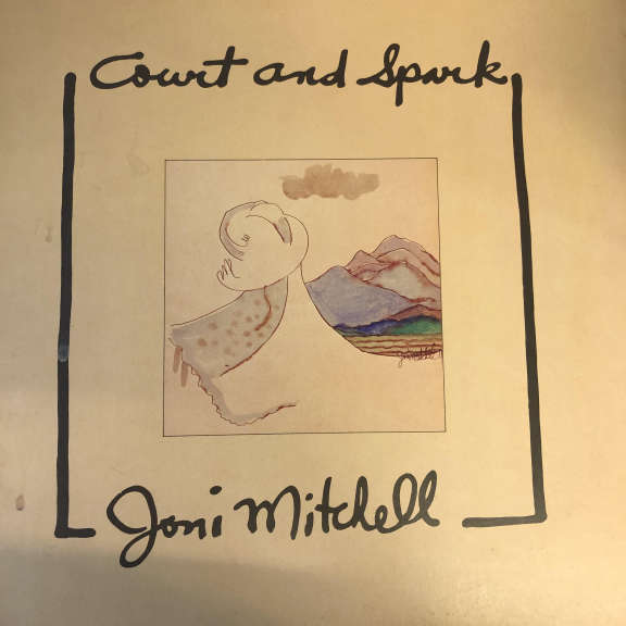 Joni Mitchell Court And Spark LP 0