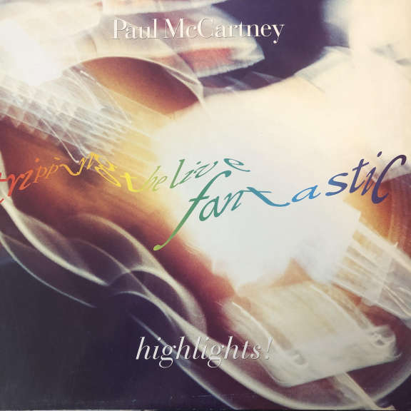 Paul McCartney Tripping The Live Fantastic - Highlights! LP 0