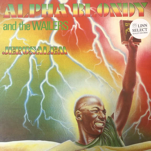 Alpha Blondy And The Wailers Jerusalem LP 0