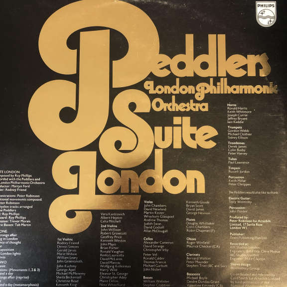 The Peddlers And The London Philharmonic Orchestra Suite London LP 0