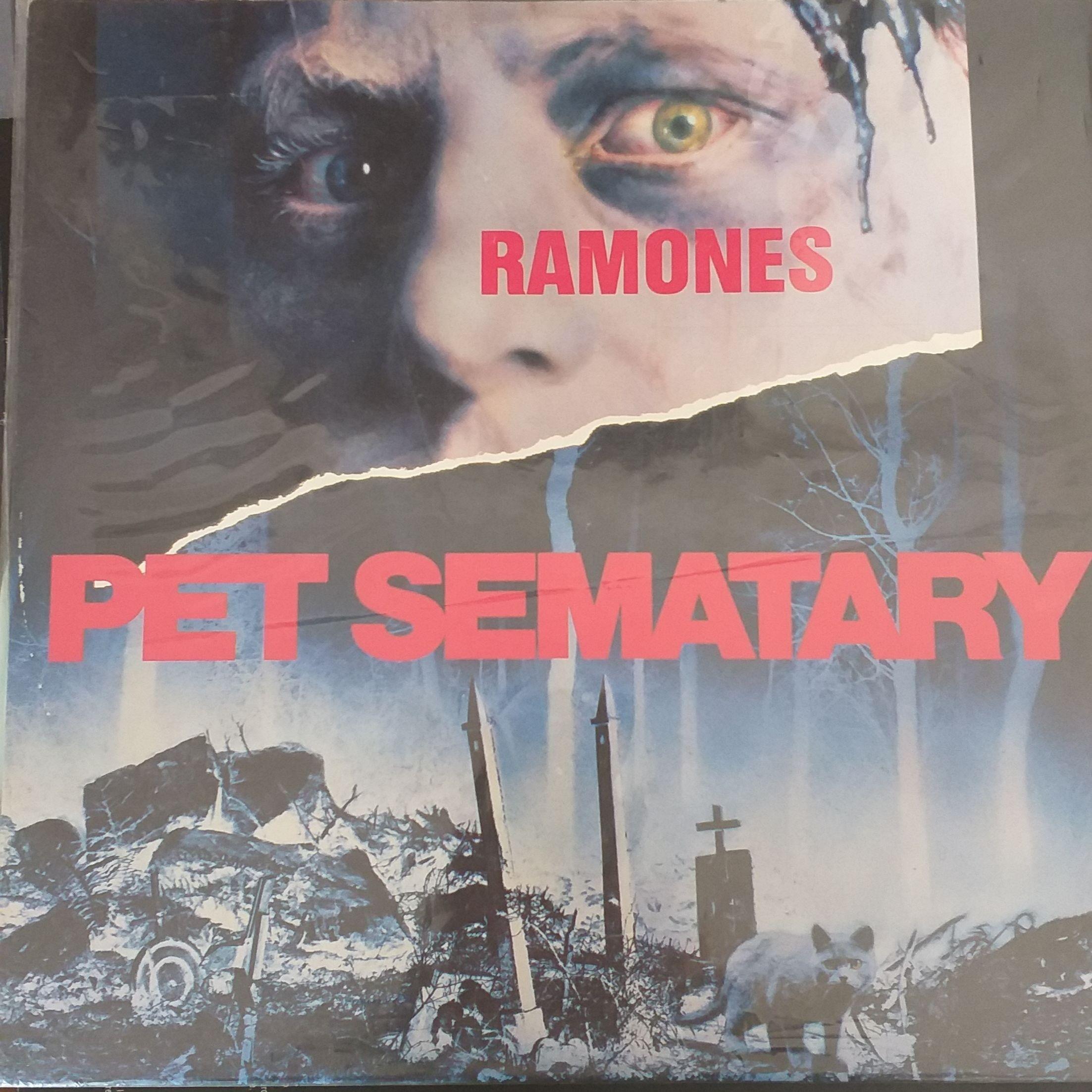 The ramones Pet sematary LP undefined
