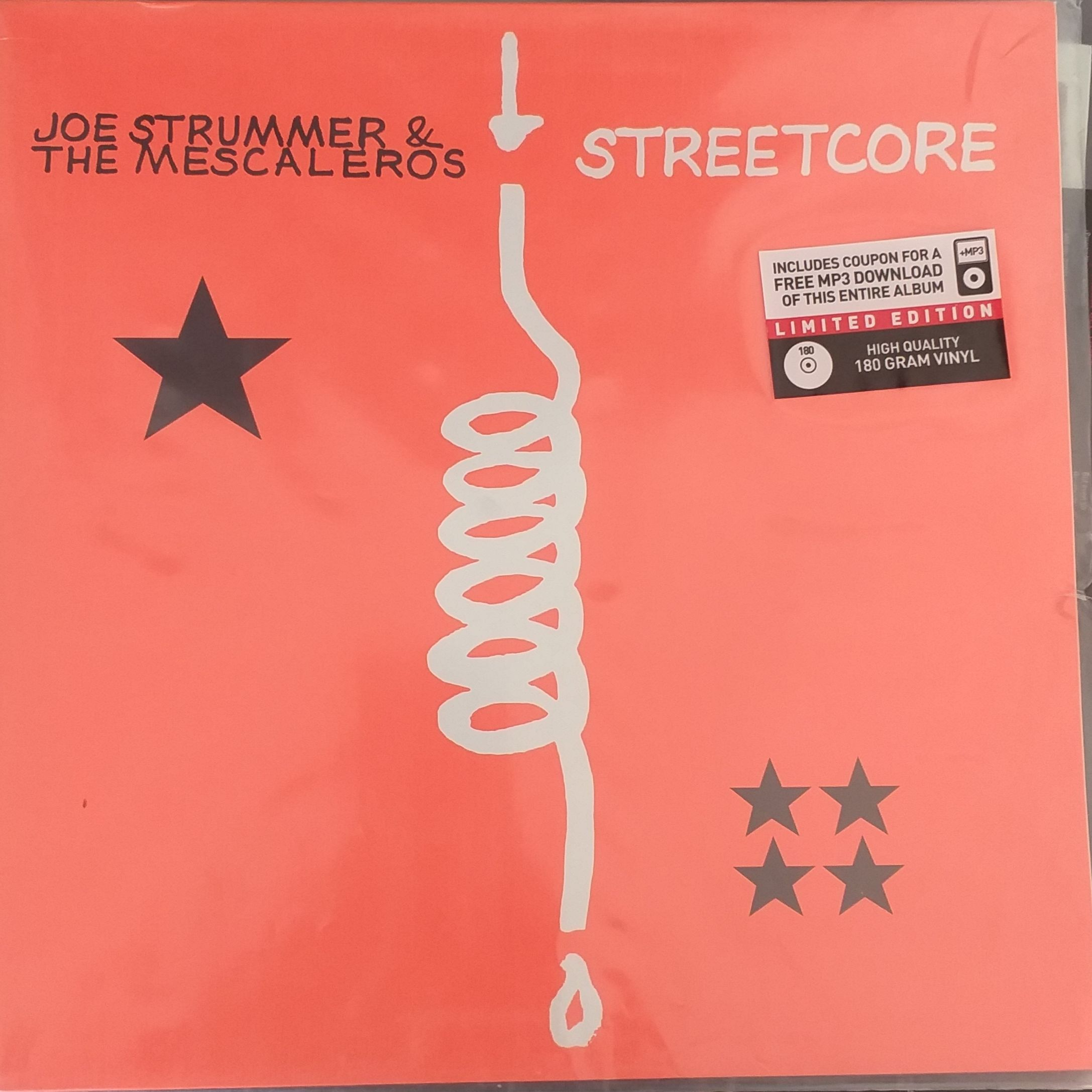 Joe Strummer and the mescaleros Streetcore LP undefined
