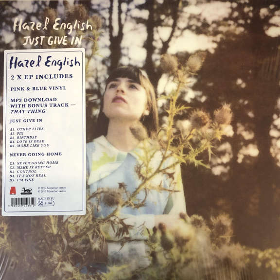 Hazel English Just Give In / Never Going Home LP 0