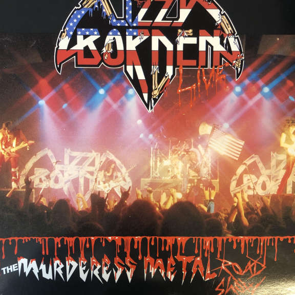 Lizzy Borden The Murderess Metal Road Show LP 0