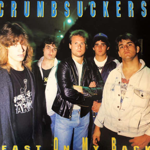 Crumbsuckers Beast On My Back LP 0