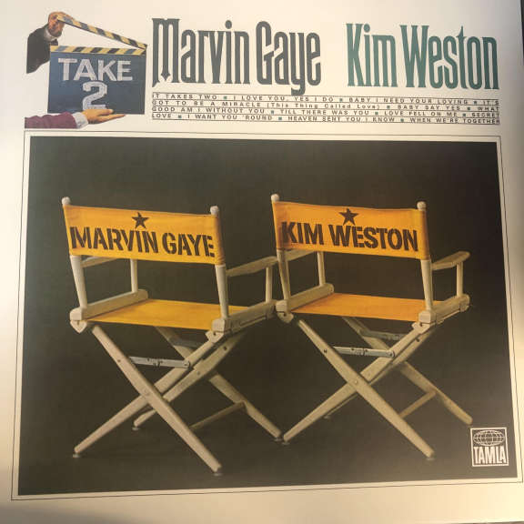 Marvin Gaye & Kim Weston Take Two LP 0