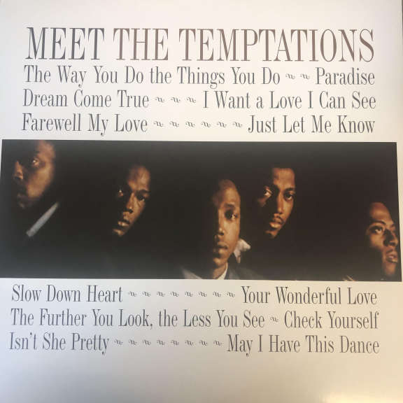 The Temptations Meet The Temptations LP 0