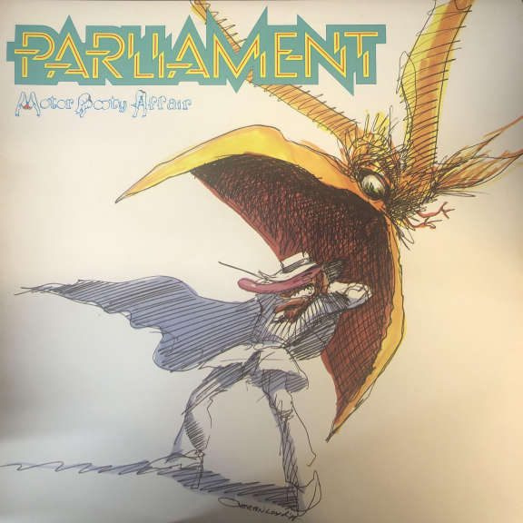 Parliament Motor Booty Affair LP 0