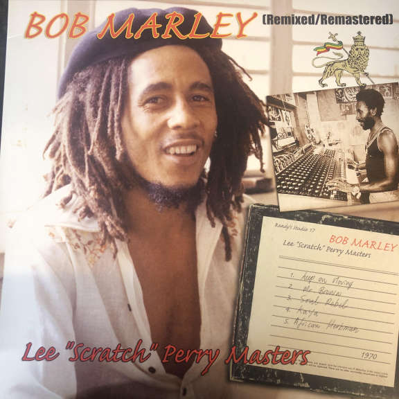 "Bob Marley  Lee ""Scratch"" Perry Masters (Remixed/Remastered) LP 0"