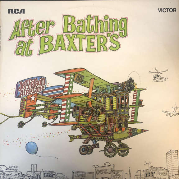 Jefferson Airplane After Bathing At Baxter's LP 0