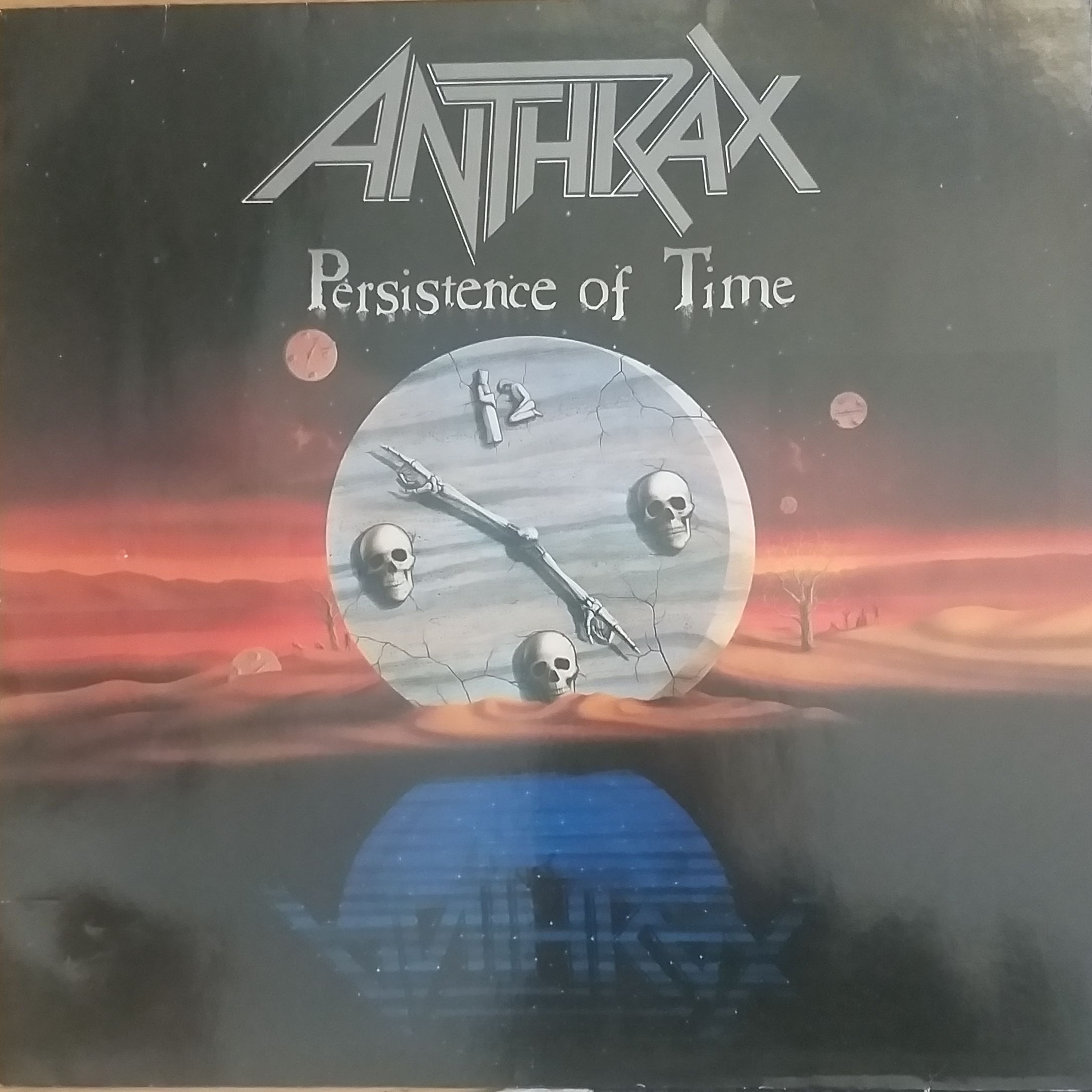 Anthrax Persistence of time LP undefined