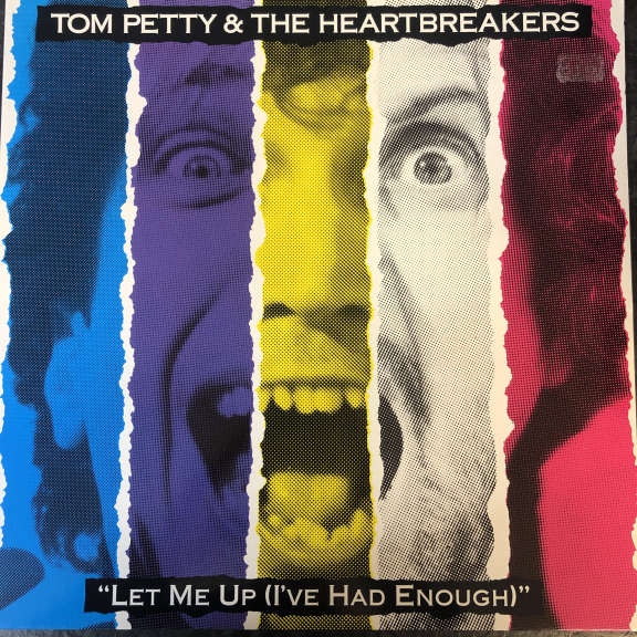 Tom Petty & The Heartbreakers Let Me Up (I've Had Enough) LP 0