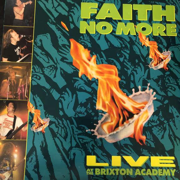 Faith No More Live At The Brixton Academy LP 0