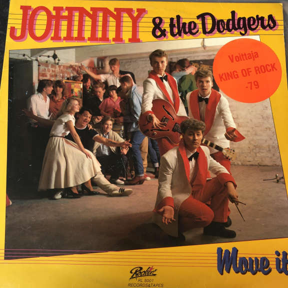 Johnny & The Dodgers Move It! LP 0