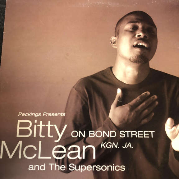 Bitty Mclean & The Supersonics On Bond Street Kgn. JA. LP 0