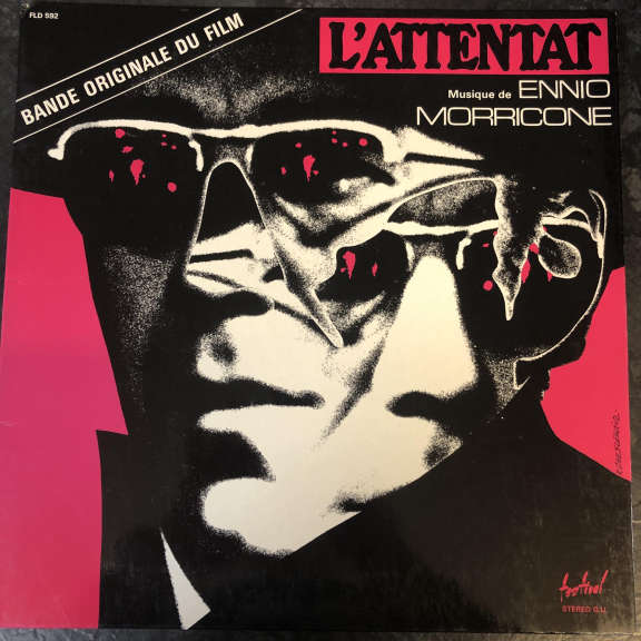 Ennio Morricone L'Attentat (Bande Originale Du Film) LP 0