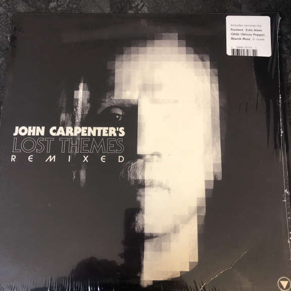 John Carpenter Lost Themes Remixed LP 0