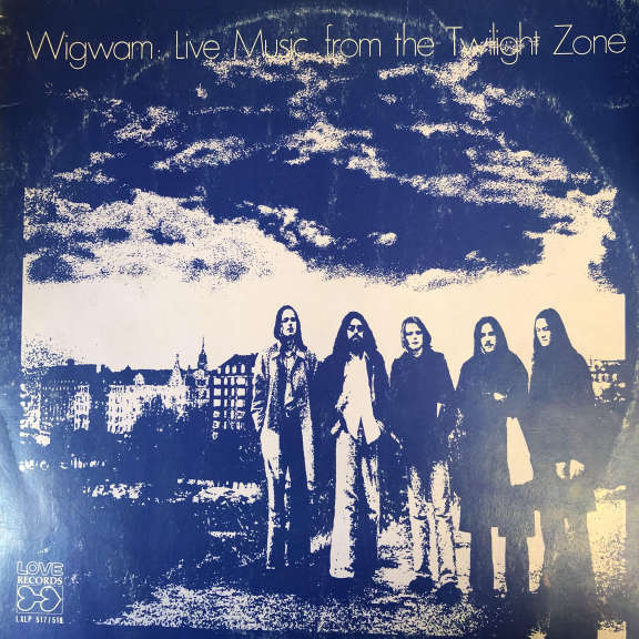 Wigwam Live Music From The Twilight Zone LP 0