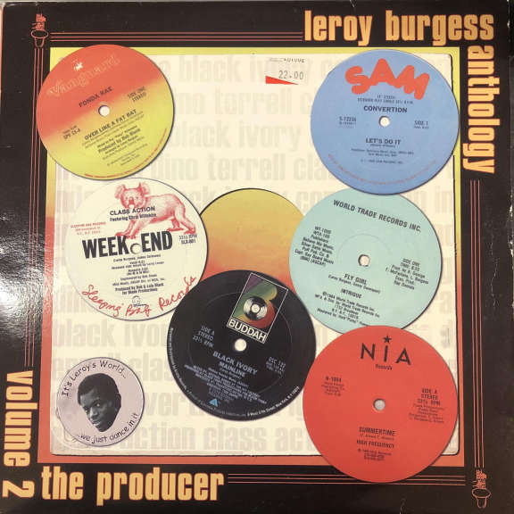 Leroy Burgess Leroy Burgess Anthology - Volume 2: The Producer LP 0