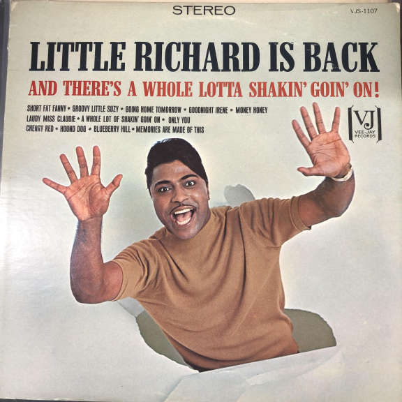 Little Richard Little Richard Is Back LP 0