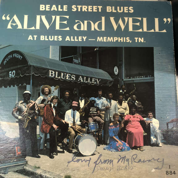"The Blues Alley All Stars Beale Street Blues ""Alive And Well"" At Blues Alley - Memphis, TN LP 0"