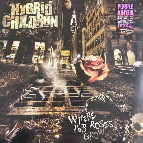 Hybrid Children Where Pub Roses Grow LP 2020