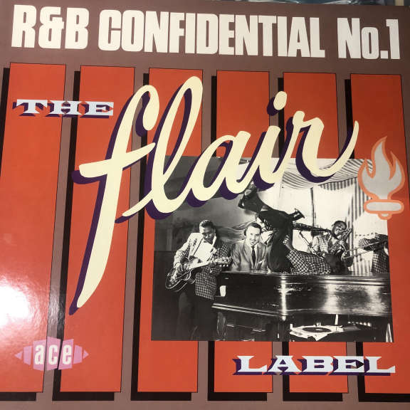 Various R&B Confidential No.1 - The Flair Label LP 0