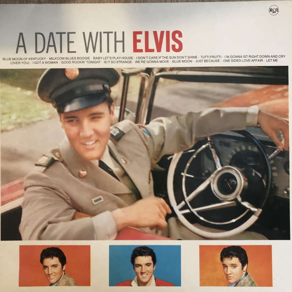 Elvis Presley A Date With Elvis LP 0