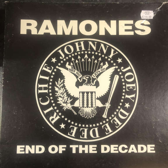 Ramones End Of The Decade LP 0