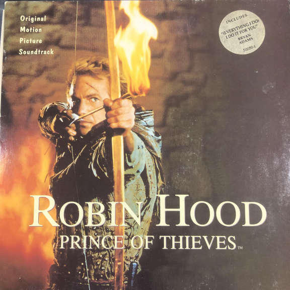Michael Kamen Robin Hood: Prince Of Thieves (Original Motion Picture Soundtrack) LP 0